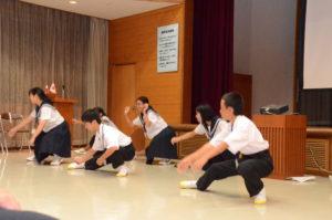 DSC_0051中学生パフォーマンス